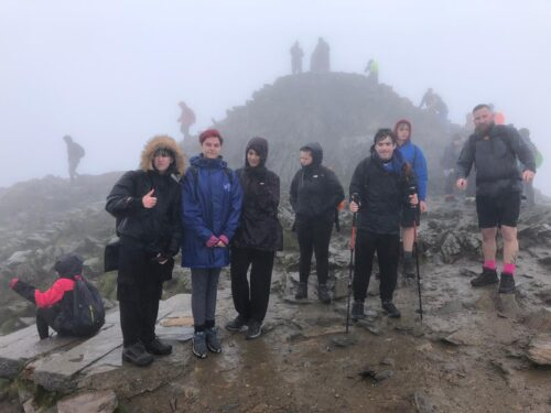 Young People's Development Group Take On Snowdon!