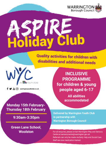 Aspire Holiday Club back for February