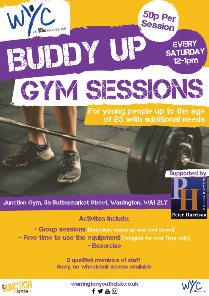 WYC Buddy Up Gym Sessions