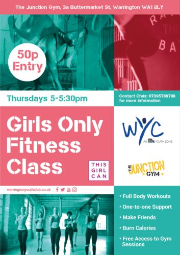 GIRLS ONLY FITNESS SESSIONS!