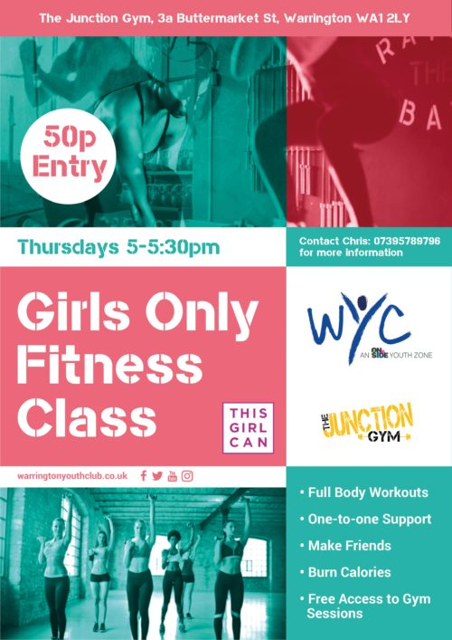 WYC Girls Only Gym Sessions 2019