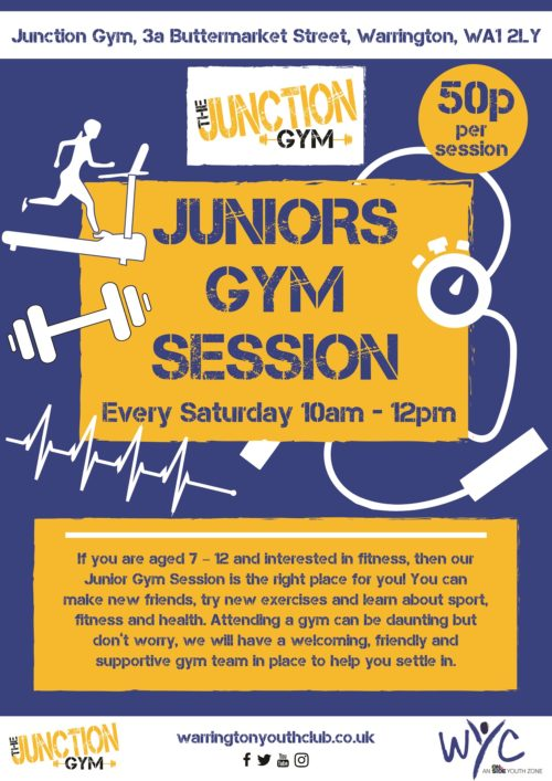 WYC Junior Gym Sessions