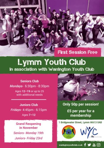 Warrington Youth Club and Lymm Youth Club