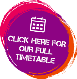 Click here for our full timetable