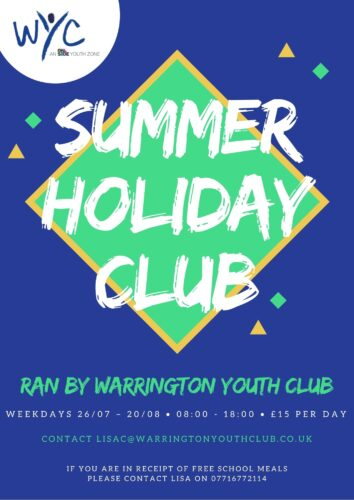 Summer Holiday Club At The Peace Centre