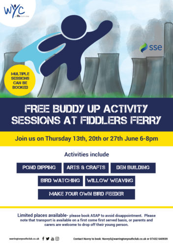 WYC Buddy Up Fiddlers Ferry Activity Sessions